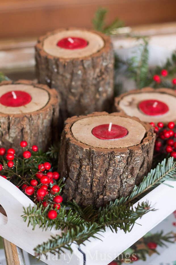 Подборка идей новогоднего декора