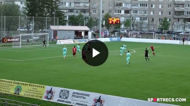 «Муром» 0:1 «Ленинградец». Яркие моменты