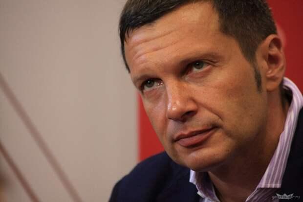 """Соловьев снова обрушился с критикой на центр Ельцина: Это какой-то """"либерал-центр""""!"""