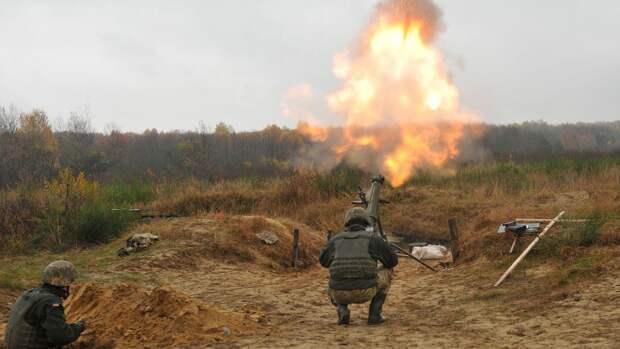 ВСУ выпустили десять мин по Горловке в ДНР