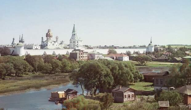 Александровская слобода. Снимок Прокудина-Горского, 1911 год.