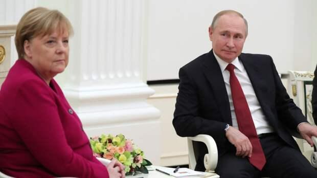Президент России признался, что будет скучать по Ангеле Меркель