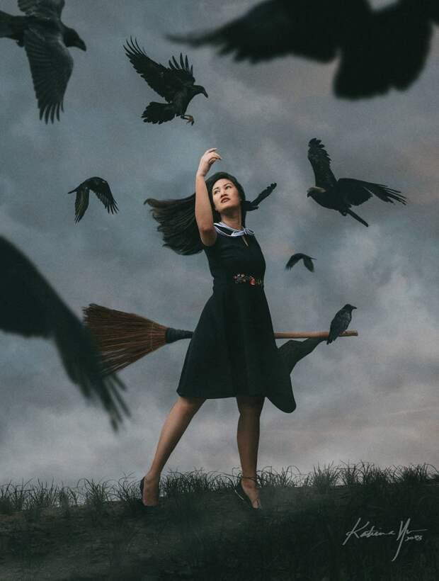 Как моглабы выглядеть жизнь современной ведьмы