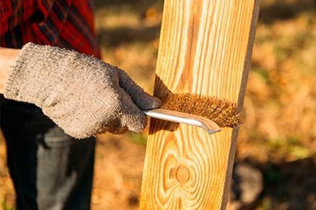 Щетка для брашировки дерева