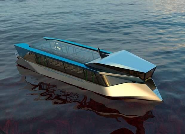 «Печки запечатанные»: москвичи оценили новый дизайн речных трамвайчиков