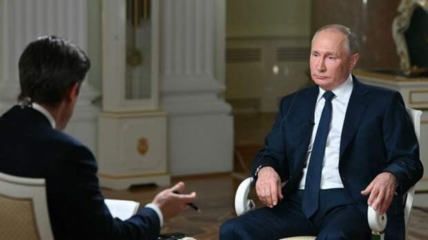 Песков ответил на вопрос об упоминании Навального в интервью Путина NBC