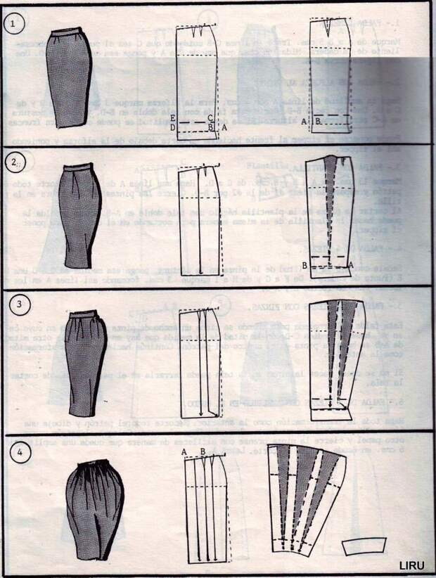 ШЬЕМ, ШЬЁМ, ШЬЁМ...Моделирование юбок