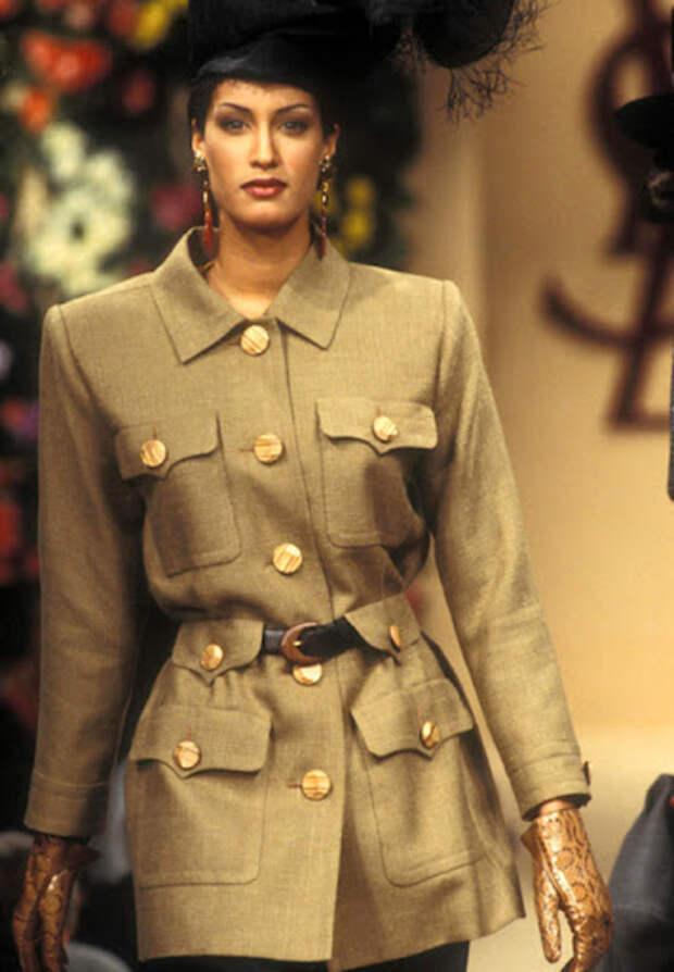 Модные революции Ива Сен-Лорана
