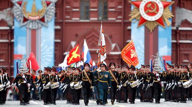 Ветераны поделились впечатлениями от парада Победы в Москве