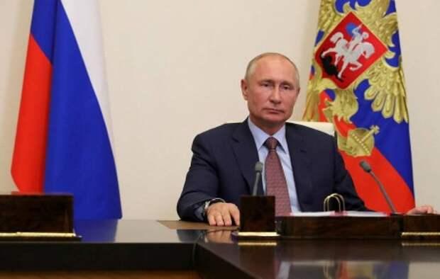 """Путин обратится с приветствием к участникам марафона """"Новое знание"""""""