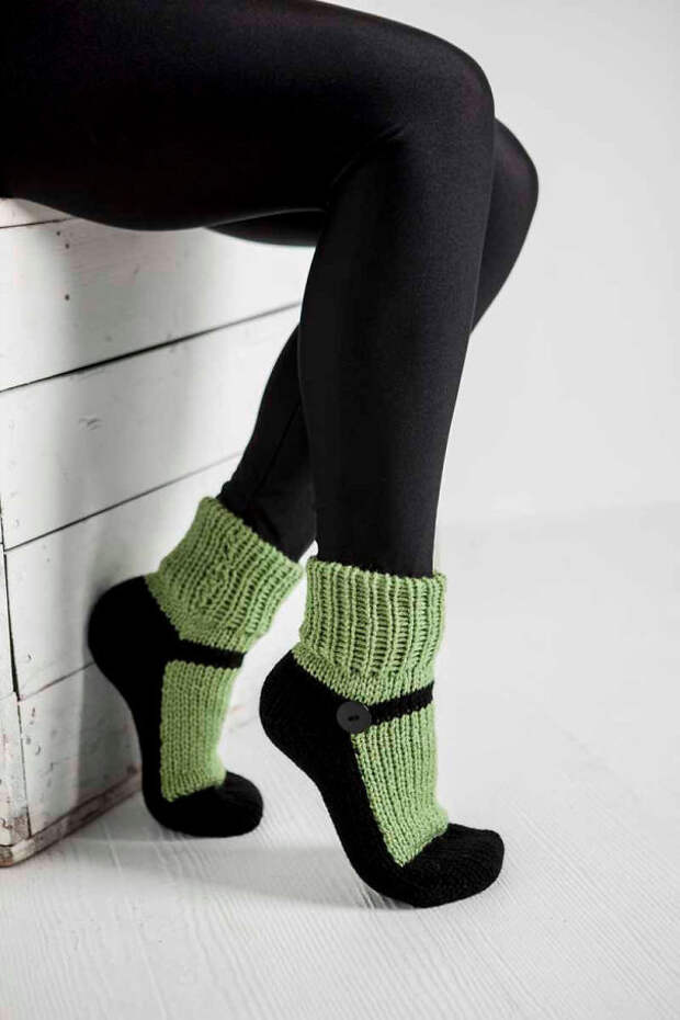 Домашние носочки вязание, новый год, подарки