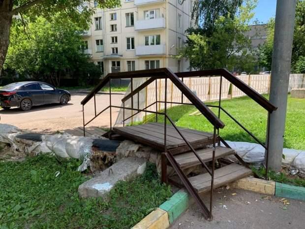 В Кузьминках демонтируют системы наружного теплоснабжения. Фото: Александр Чикин