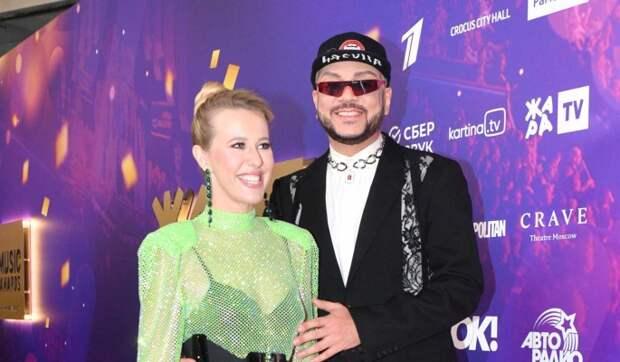 «Не боишься экспериментировать»: замужняя Собчак растаяла от ласк Киркорова