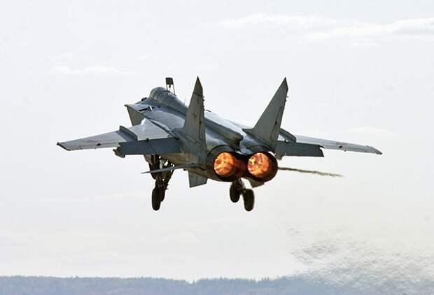 Названы цели МиГ-31 в Сирии