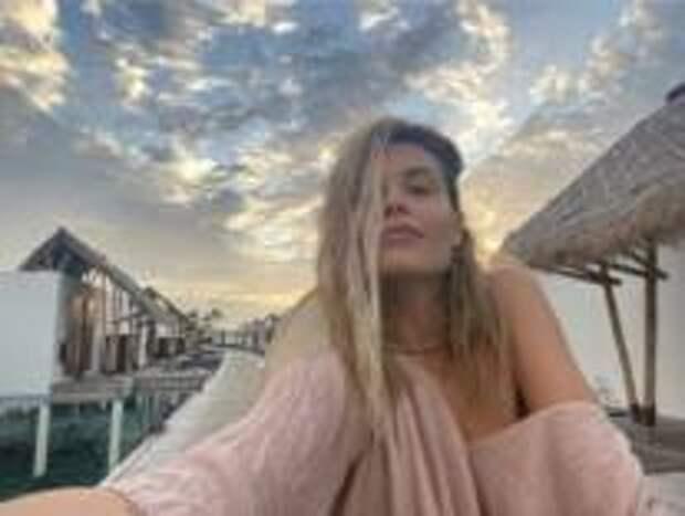 Мария Горбань отдыхает на Мальдивах