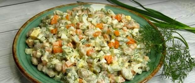 За этот салат муж меня осыпал комплиментами и просит его готовить каждый день