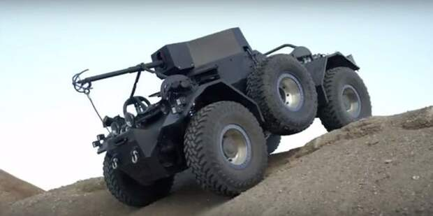 Добро с кулаками: военный вседорожник прорекламировал шины