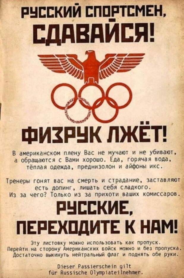 Олимпиада и троцкизм