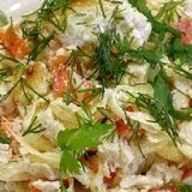 Жареные кабачки с цветной капустой