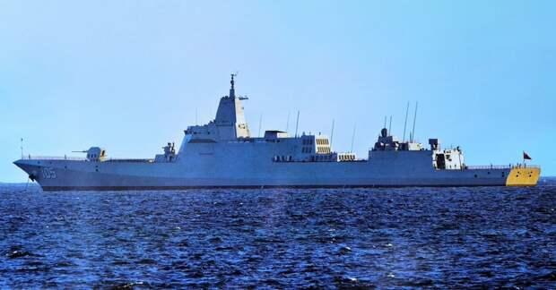 Пополнение корабельного состава ВМС НОАК за первое полугодие 2021 года
