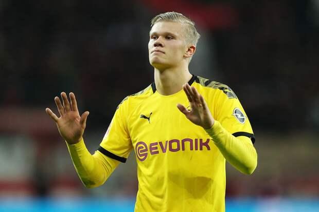 Холанд быстрее всех забил 10 мячей за новый клуб в ЛЧ и приблизился к рекорду Сульшера по голам среди норвежцев