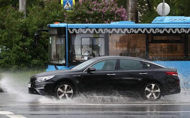 В ПДД пропишут порядок остановки автомобиля перед общественным транспортом