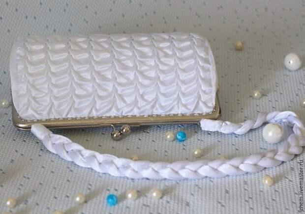 Роскошная сумочка невесты своими руками