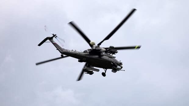 """Боевые вертолеты Ми-28НМ смогут выполнять """"петлю Нестерова"""" и """"воронку на хвост"""""""