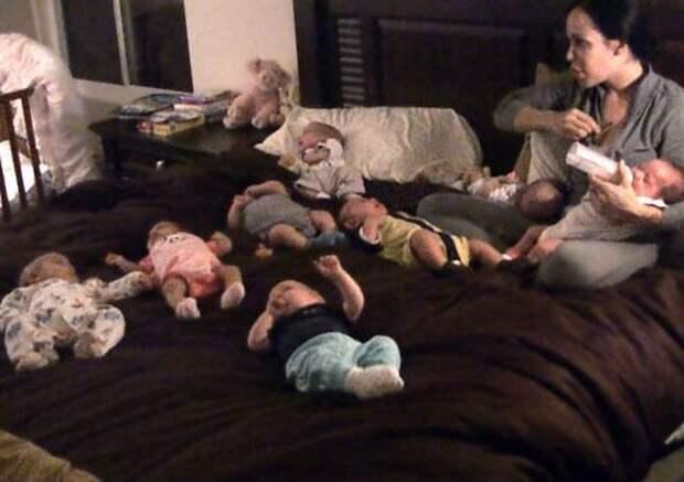 Помните женщину, которая в 2009 году родила восьмерняшек? Как выглядят её дети сегодня