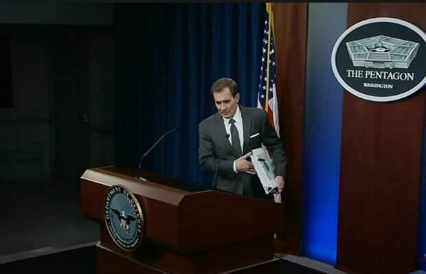 «Не понимаем намерений»: В Пентагоне ждут разъяснений России по поводу перемещения войск «на границе с Украиной»