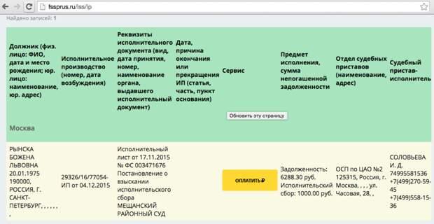Бабченко и Рынскую ищут приставы. За неоплату проезда