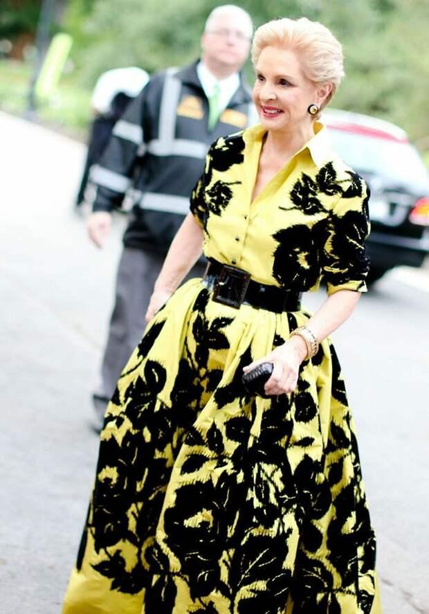 Каролина Эррэра и образы элегантной дамы 60+, вот к чему нужно стремиться