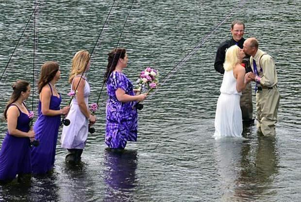 Свадьба рыбака.