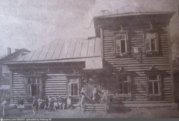 Фото дня: здание общества благоустройства местности на Рудневой