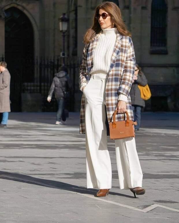 9 образов с ультрамодными осенними брюками, которые скрывают полноту и делают образ элегантным