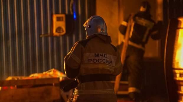 Кровля жилого дома загорелась вБахчисарайском районе Крыма
