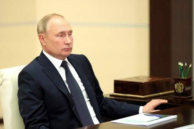 Путин поручил «Газпрому» повысить объёмы газа в европейских хранилищах