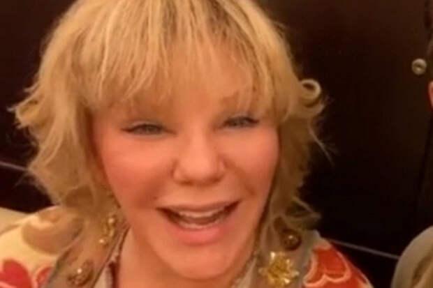 Актрису Захарову обвинили влюбви кчрезмерной «пластике»