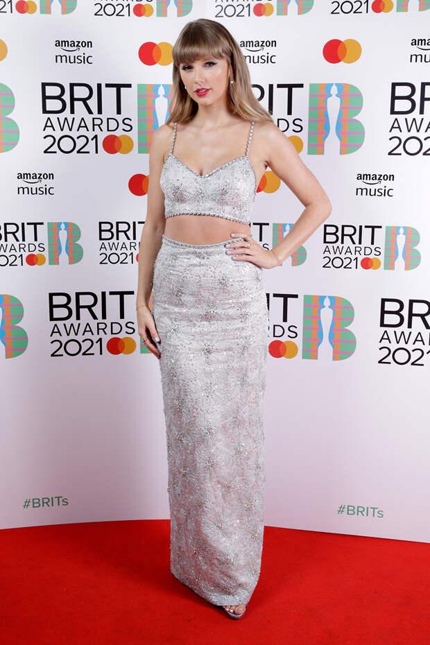 Тейлор Свифт BRIT Awards 2021