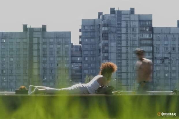 В Петербурге установлен температурный рекорд, но будет ещё жарче