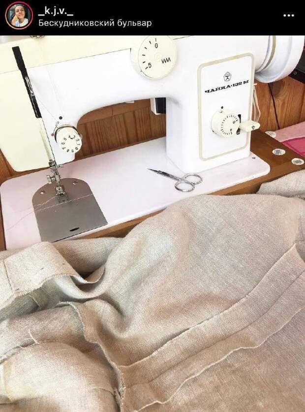 Фото дня: швейное хобби жительницы Бескудниковского