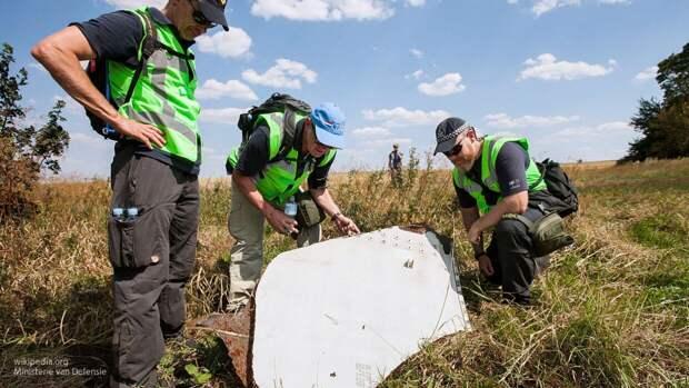 ВФБП выдвинул теорию о причастности Киева к трагедии с авиалайнером MH17