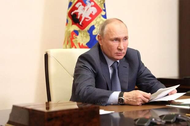Путин заявил о превращении Украины в «анти-Россию»