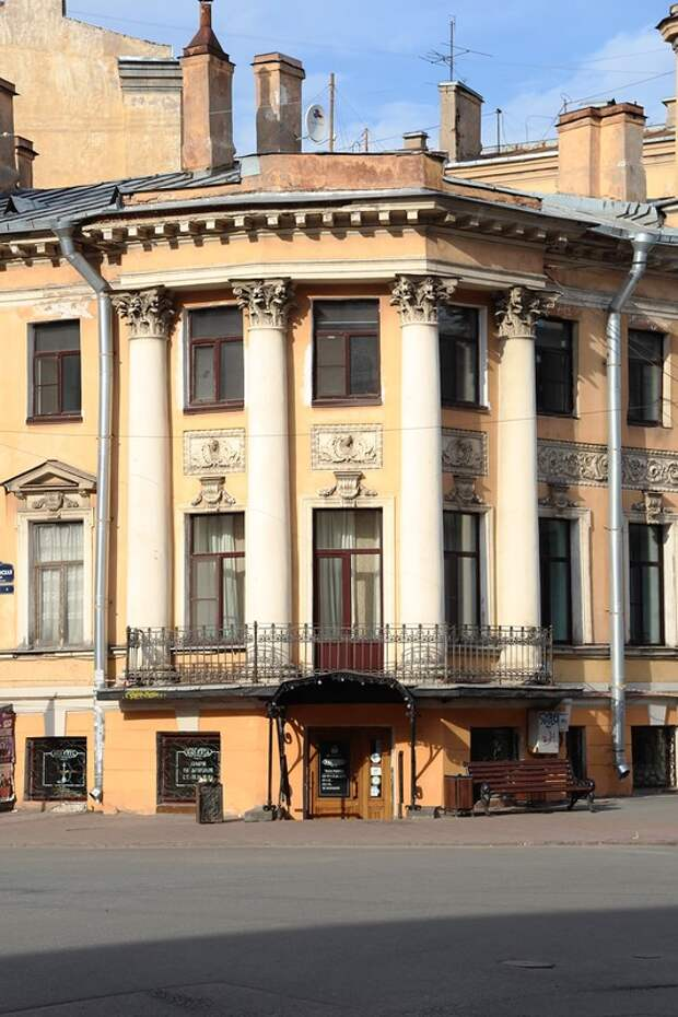 Петербург. Дом С. А. Кокошкина.