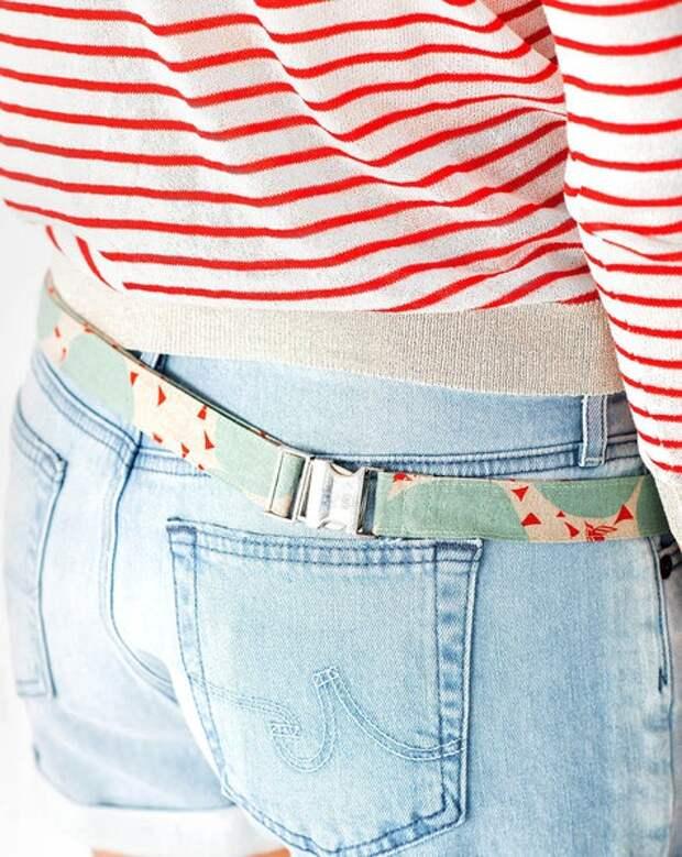 Выкройка поясной сумочки с 3 (!) карманами