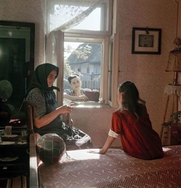 Деревенское утро 50-е, СССР, история, моменты, повседневная жизнь, редкие фото, советский союз, фото