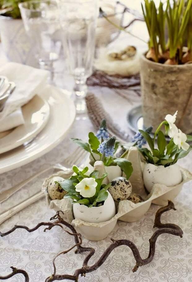 Идеи декора пасхального стола