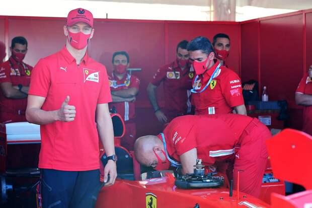Мик Шумахер дебютирует в Формуле-1 на этапе в Нюрбургринге на следующей неделе