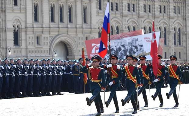 Уникальный расчёт примет участие параде Победы на Красной площади