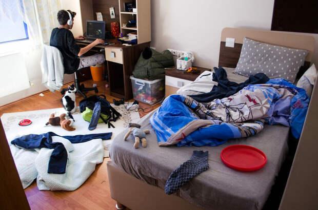 Как заставить ребенка убраться в комнате?